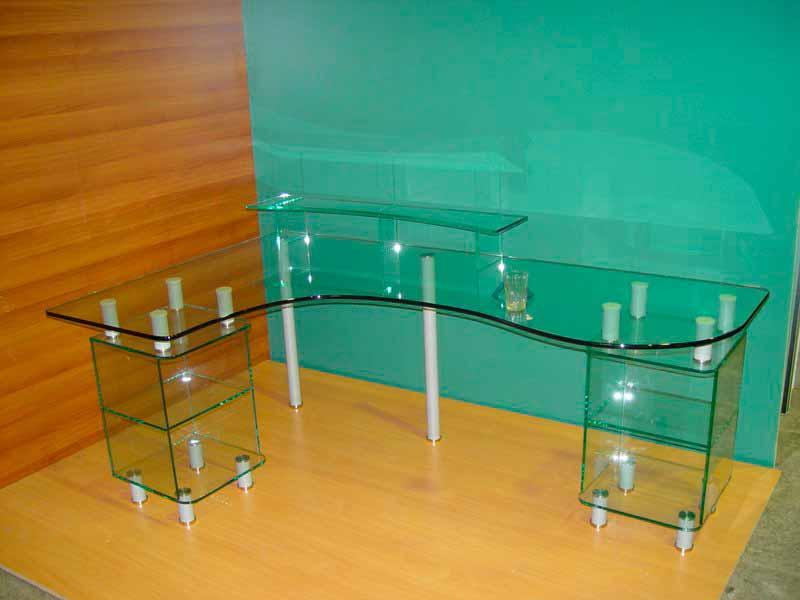 Как своими руками сделать стеклянный стол 112
